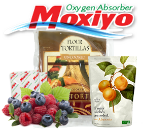 Moxiyo Sachets for Packaged foods