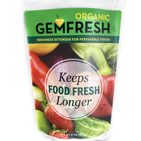 Gemfresh Keeps Food Fresh Longer