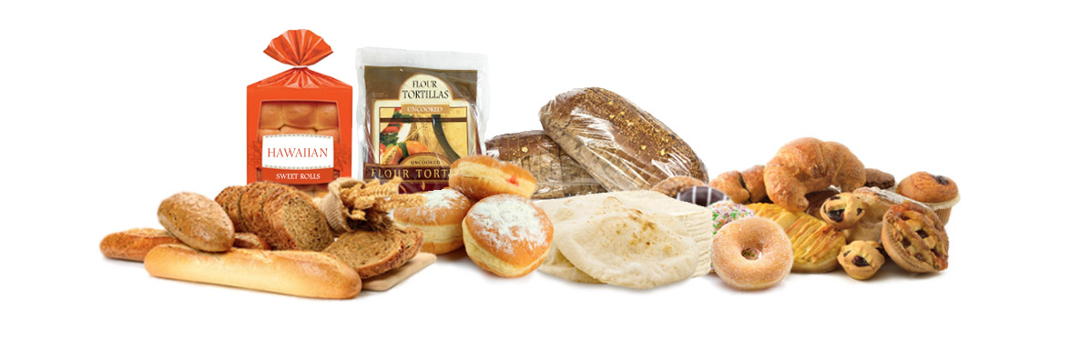 breads, tortillas, packaged food